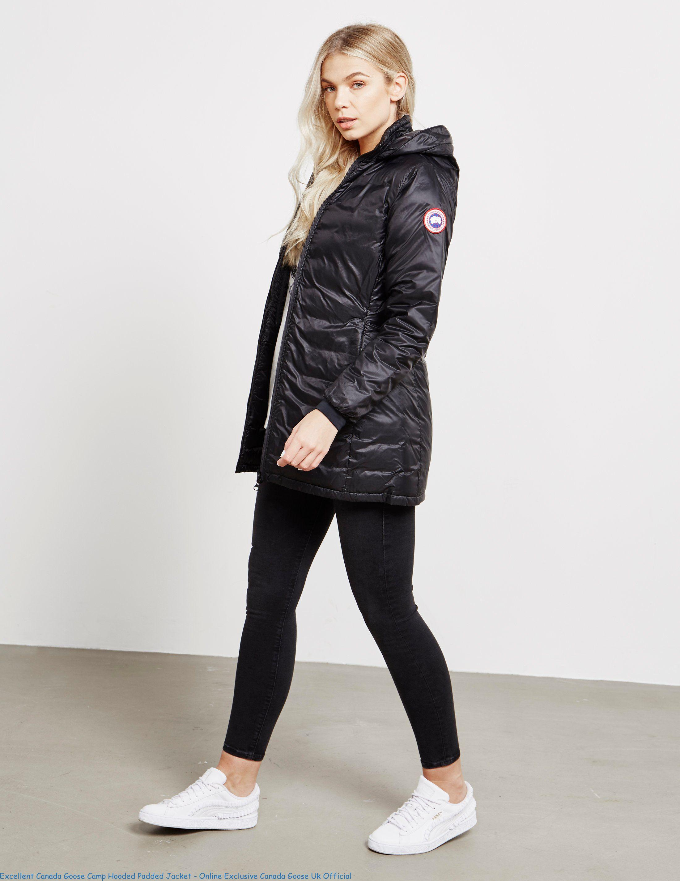 Excellent Canada Goose Camp Hooded Padded Jacket Online Exclusive Canada Goose Uk Official