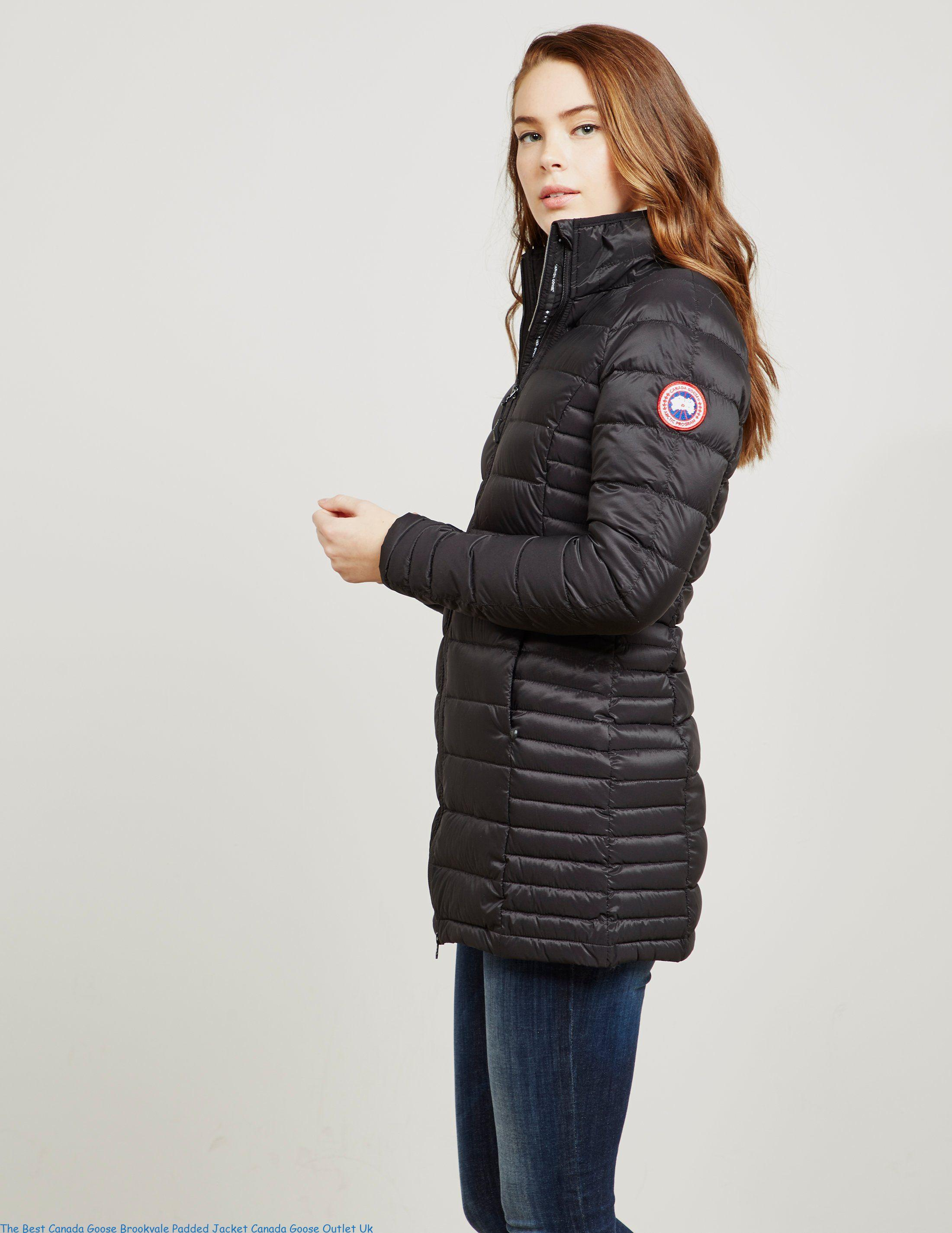 7e07e531f1a The Best Canada Goose Brookvale Padded Jacket Canada Goose Outlet Uk